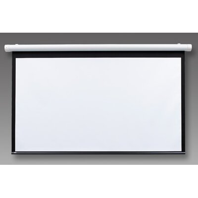 Salara Series M White Manual Projection Screen Viewing Area: 72 H x 96 W