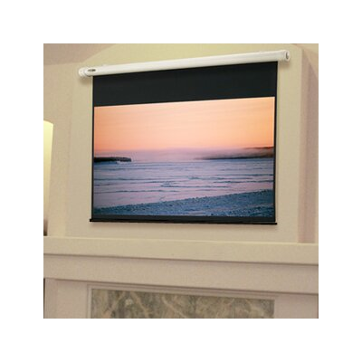 Salara Plug & Play White Electric Projection Screen Size/Format: 100 diagonal / 16:9