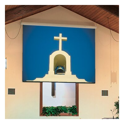 See Targa Contrast Grey Electric Projection Screen with Low Voltage Motor More Images