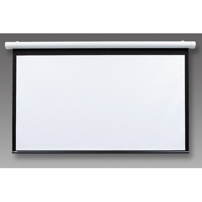 Salara Series M Pearl White Electric Projection Screen Size: 96 x 96