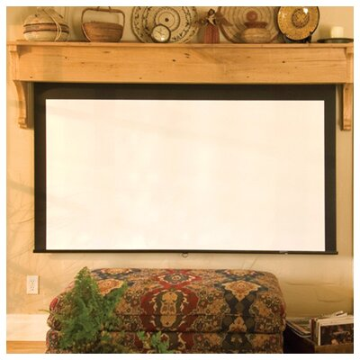 Silhouette Series M Matt White Electric Projection Screen Size/Format: 100 / 16:9