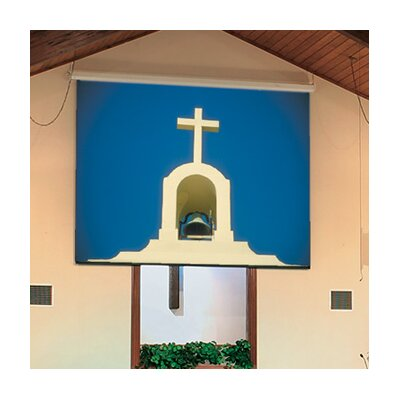 See Targa Glass Beaded Electric Projection Screen Size/Format: 200 diagonal / 4:3 More Images