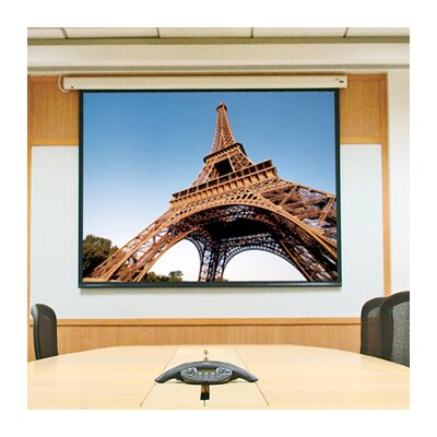 Baronet White Electric Projection Screen Size/Format: 85 diagonal / 16:10