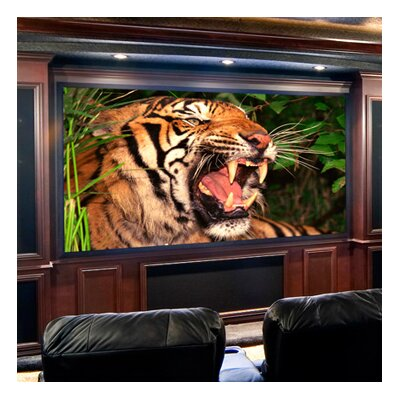 Clarion Projection Screen Size/Format: 110, 16:9 Format, Surface Finish: Matt White
