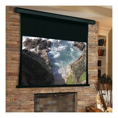 Premier Matte White Electric Projection Screen Viewing Area: 70 H x 70 W