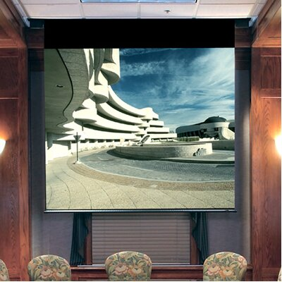 Envoy Matte White Electric Projection Screen Low Voltage Motor Size / Format: 92 diagonal / 16:9