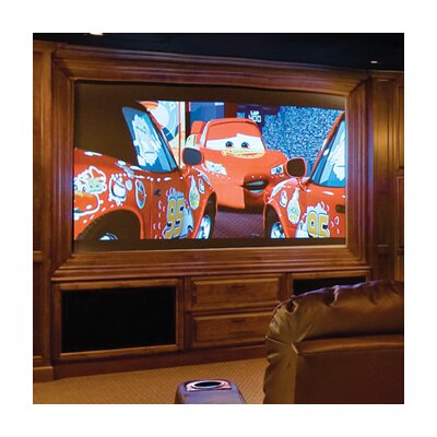 Onyx Projection Screen Surface Finish: CineFlex, Size/Format: 100, 16:9 Format