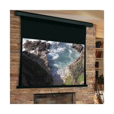 Premier White Electric Projection Screen Low Voltage Motor Size/Format: 189 diagonal / 16:10
