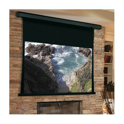 Premier Matte White Electric Projection Screen Viewing Area: 84 H x 84 W