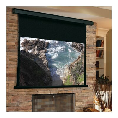 Premier Matte White Electric Projection Screen Low Voltage Motor Viewing Area: 12 H x 16 W