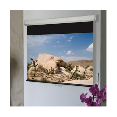 Luma 2 Matt White Electric Projection Screen Size/Format: 113 / 16:10