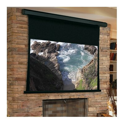 Premier Matte Electric White Projection Screen Low Voltage and Quiet Motor Size/Format: 113 diagonal / 16:10