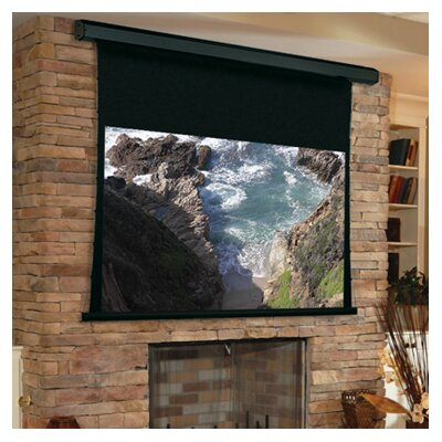 Premier White Electric Projection Screen Quiet Motor Size/Format: 100 diagonal / 16:9