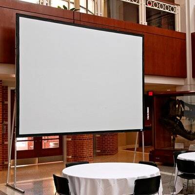 Ultimate Matt White Portable Projection Screen Viewing Area: 108 H x 108 W