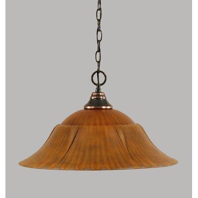 1-Light Mini Pendant Finish: Black Copper