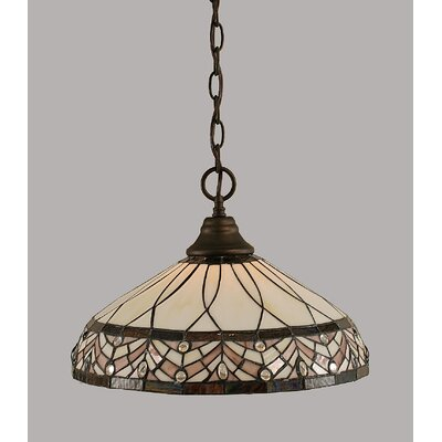 1-Light Mini Pendant Finish: Bronze