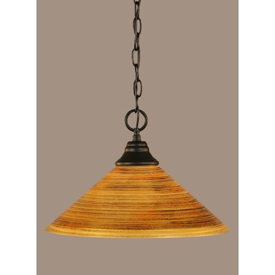 1-Light Mini Pendant Size: 10 H x 16 W