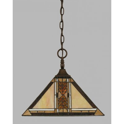 1-Light Pendant Finish: Bronze