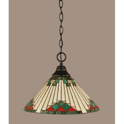 1-Light Mini Pendant Finish: Matte Black