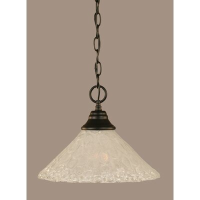 1-Light Mini Pendant Size: 9.5 H x 12 W