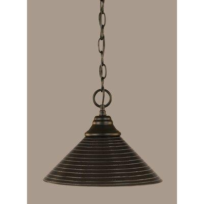 1-Light Mini Pendant Size: 9 H x 12 W x 12 D