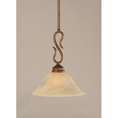 Swan 1-Light Mini Pendant