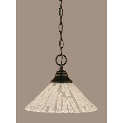 1-Light Mini Pendant Size: 9 H x 12 W