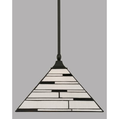 1-Light Mini Pendant Finish: Matte Black