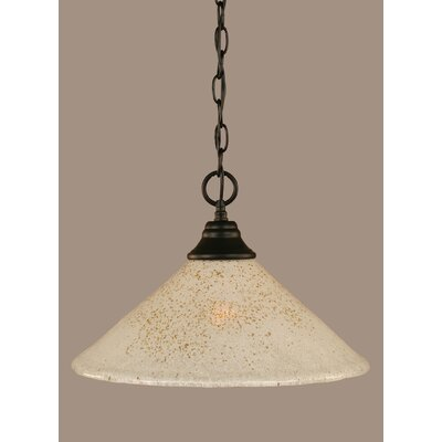 1-Light Mini Pendant Size: 10.5 H x 16 W