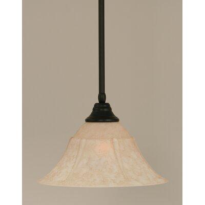 Stem 1-Light Mini Pendant Size: 9 H x 16 W