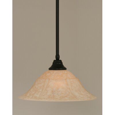Stem 1-Light Mini Pendant Size: 9.5 H x 14 W