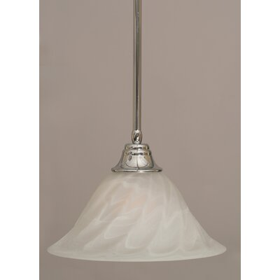 Stem 1-Light Mini Pendant Finish: Chrome