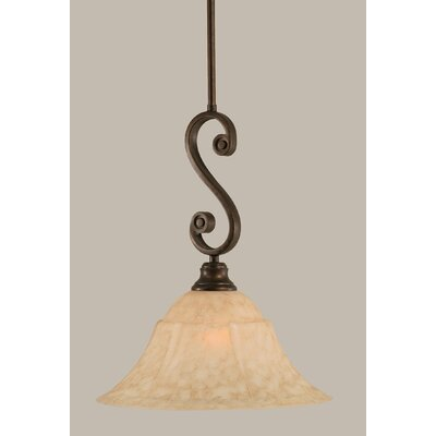 Babin 1-Light Mini Pendant Size: 17 H x 14 W
