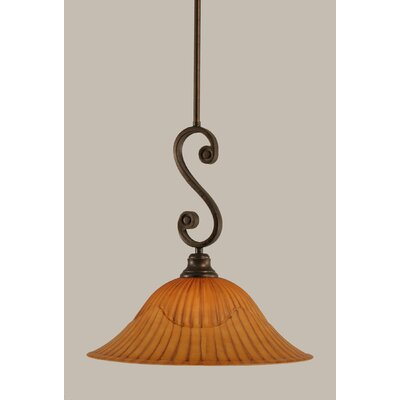 Babin 1-Light Mini Pendant Size: 14.75 H x 16 W