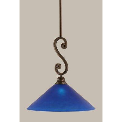 Jacksonville 1-Light Mini Pendant Size: 15.25 H x 16 W