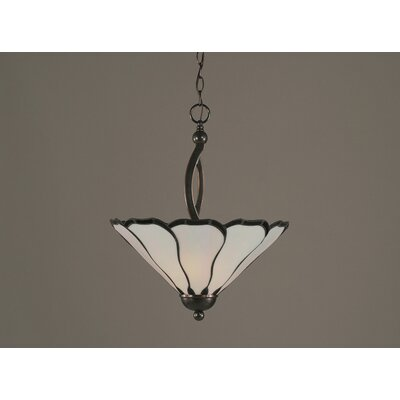 Austinburg 2-Light Inverted Pendant Finish: Black Copper
