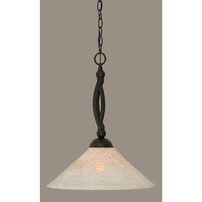 Blankenship 1-Light Steel Mini Pendant