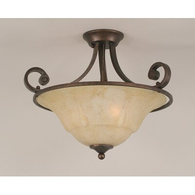 Babin 3-Light Semi Flush Mount