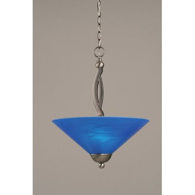 Bow 2-Light Inverted Pendant Finish: Brushed Nickel
