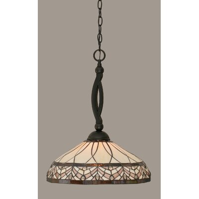 Austinburg 1-Light Matte Black Mini Pendant