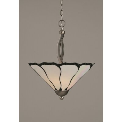 Austinburg 2-Light Inverted Pendant Color: Brushed Nickel