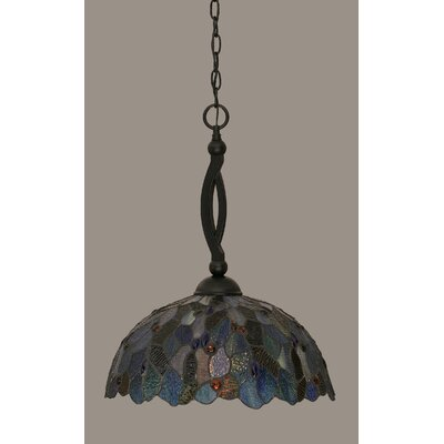 Austinburg 1-Light Black Mini Pendant