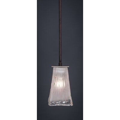 Elburn 1-Light Stem Mini Pendant With Hang Straight Swivel