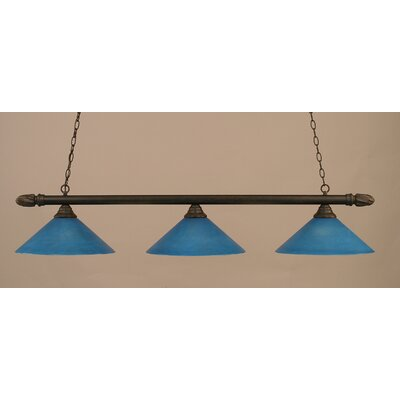 3-Light Pool Table Light