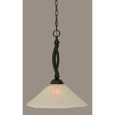 Eisenhauer 1-Light Mini Pendant Size: 19.75 H x 16 W