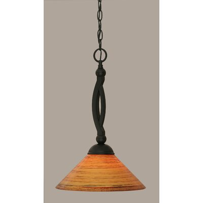 Blankenship 1-Light Mini Pendant Size: 18.5 H x 12 W