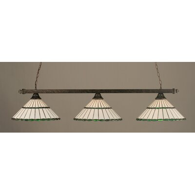3-Light Billiard Light Finish: Bronze