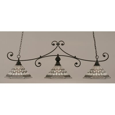 Copeland 3-Light Billiard Light