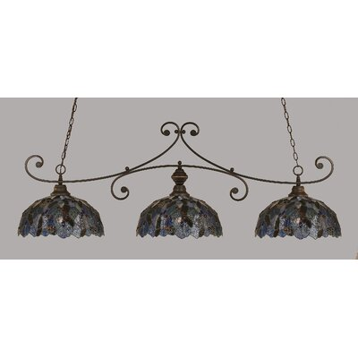 Copeland 3-Light Billiard Light Color: Dark Granite