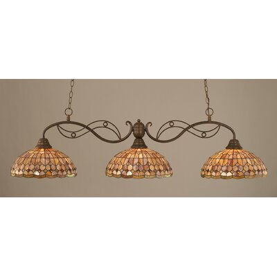 Jazz 3-Light Kitchen Island Pendant